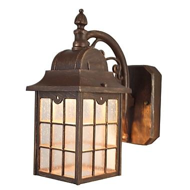Melissa Kiss Series 1 Light Outdoor Wall Lantern; Old World