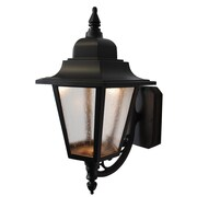 Melissa Kiss Series LED Outdoor Wall Lantern; Patina Bronze