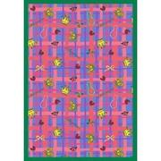 Joy Carpets Just for Kids My Little Princess Blue Area Rug; 3'10'' x 5'4''