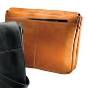 Andrew Philips Vaqueta Napa Leather Laptop Briefcase; Tan