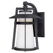 Maxim Lighting Calistoga LED 1-Light Outdoor Wall Lantern; 12.5'' H x 9'' W