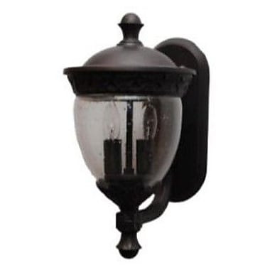 Melissa Tuscany 2-Light Outdoor Sconce; Patina Bronze