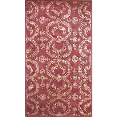 MOTI Rugs Cairo Red Area Rug; 8' x 11'