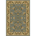 Central Oriental Interlude Cambridge Blue Rug; 7'10'' x 9'10''