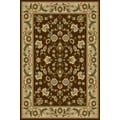 Central Oriental Interlude Cambridge Brown Rug; Runner 2' x 7'6''