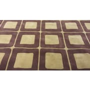 American Home Rug Co. Casual Contemporary Brown / Tan Area Rug; 5' x 8'