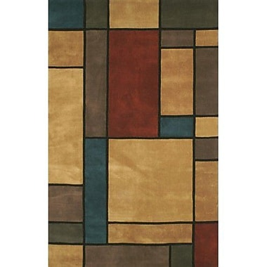 American Home Rug Co. Casual Contemporary Earth Tones Metro Area Rug; 3'6'' x 5'6''