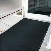 Mats Inc. Brush Klean 36'' x 72'' Black Rubber Entrance Mat