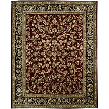 Nourison 2000 Red Area Rug; 5'6'' x 8'6''