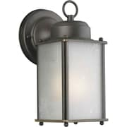 Forte Lighting 1 Light Wall Lantern; Royal Bronze