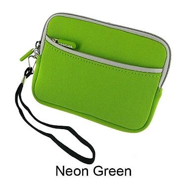 rooCASE Neoprene Sleeve Carrying Case; Neon Green