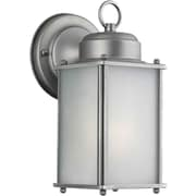 Forte Lighting 1 Light Wall Lantern; Olde Nickel