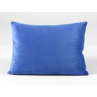 Memory Foam Kidz Throw Pillow; Blue