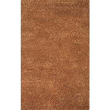 Noble House Spectra Brown Rug; 5' x 8'