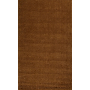Meva Rugs Verde Brown Rug; 5' x 8'