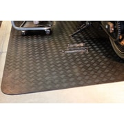Mats Inc. Autoguard 5' x 7' Rubber Garage Protection Mat in Black