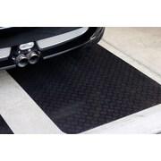 Mats Inc. Autoguard  XL 3' x 15' Rubber Garage Protection Mat in Black