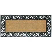 Creative Accents Acanthus Border Doormat; 24'' H x 57'' W x 1'' D