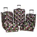 Jenni Chan Multi Dots 360 Quattro 5 Piece Luggage Set