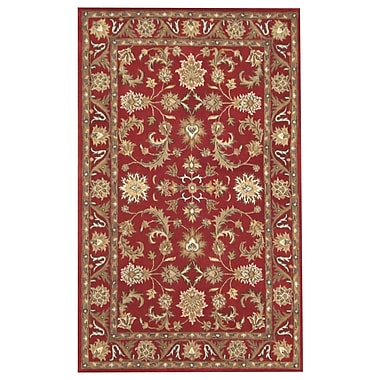 Meva Rugs Nina Red Area Rug; 5' x 8'