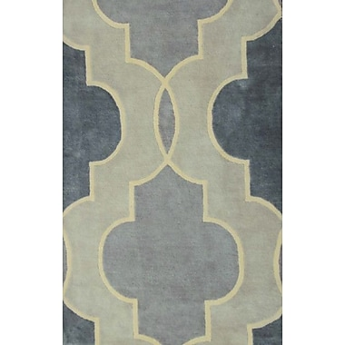 MOTI Rugs Chelsea Grey Rug; Square 1'6''