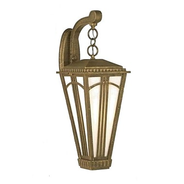 Melissa Parisian Elegance 2-Light Outdoor Wall Lantern; Old Copper
