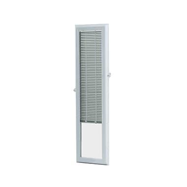 Zabitat Cordless Add on Enclosed Door Venetian Blind; 10'' W x 38'' L x 1.5'' D