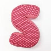 One Grace Place Simplicity Letter Pillow ''S''