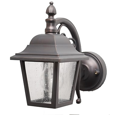 Melissa Kiss Series 1 Light Outdoor Wall Lantern; Old Iron