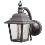 Melissa Kiss Series 1 Light Outdoor Wall Lantern Black Staples