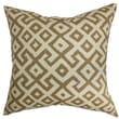The Pillow Collection Aban Cotton Pillow; Cocoa