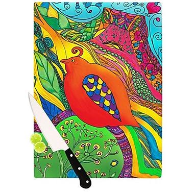 KESS InHouse Psycho-Delic Dan Cutting Board; 11.5'' H x 15.75'' W x 0.15'' D