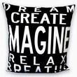 Uptown Artworks Imagine Pillow
