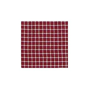 Patch Magic Red White Checks Rod Pocket 54'' Curtain Valance