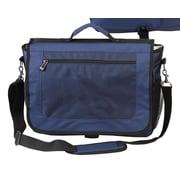 Preferred Nation Messenger Bag; Navy