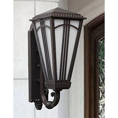 Melissa Parisian Elegance 2 Light Outdoor Sconce; Old Bronze