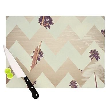 KESS InHouse Oasis Cutting Board; 11.5'' H x 15.75'' W x 0.15'' D