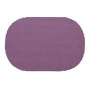 Kraftware Fishnet Placemat (Set of 12); Purple