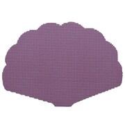 Kraftware Fishnet Shell Placemat (Set of 12); Purple