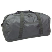 McBrine Luggage 30'' Large 2-Wheeled Travel Duffel; Black