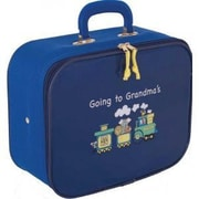 Mercury Luggage Going to Grandma's 12.5'' Children's Suitcase; Blue