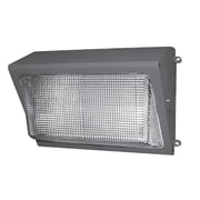 NSI Industries Medium Wallpack 1 Light Flood Light; 150W ED17 Medium Base Bulb