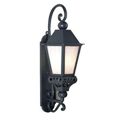 Melissa Tuscany 1 Light Outdoor Wall Lantern; Architectural Bronze