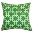 The Pillow Collection Qishn Geometric Cotton Pillow; Callie White