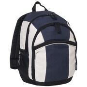 Everest Kids Deluxe Backpack; Navy / Beige / Black