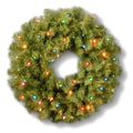 National Tree Co. Norwood Fir 24'' Wreath; Multi-Colored Lights