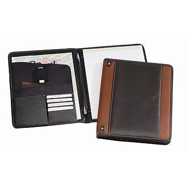 Bellino The New Yorker Padfolio; Black
