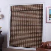 Top Blinds Arlo Blinds Bamboo Roman Shade; 36'' W x 74'' L