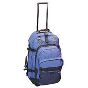 Preferred Nation Outdoor Gear 24.5'' Wheels Travel Pack; Blue