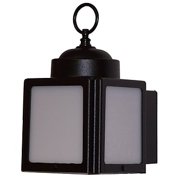 Melissa Kiss Series 1 Light Outdoor Flush Mount; White
